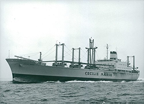 vintage-photo-of-cargo-vessel-and-ship-cecile-maersk-completed-and-delivered-from-kockums-malmo
