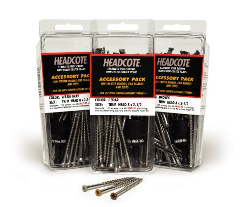 Headcote Trim Screws - #8 x 2-1/2