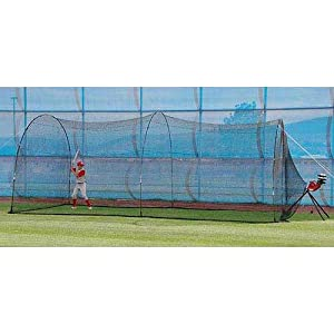 Buy Heater Trend Sports BaseHit Pitching Machine and PowerAlley Batting Cage by Trend Sports