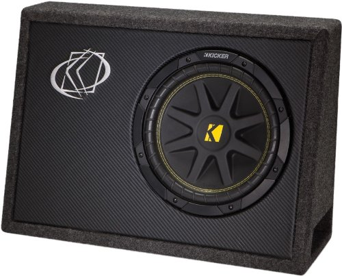 "New Kicker 10Tc104 10"" 300W Tc104 Loaded Car Audio Subwoofer + Sub Box Enclosure"
