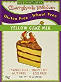 Cherrybrook Kitchen Gluten Free Yellow Cake Mix, 16.4-Ounce Boxes (Pack of 6)