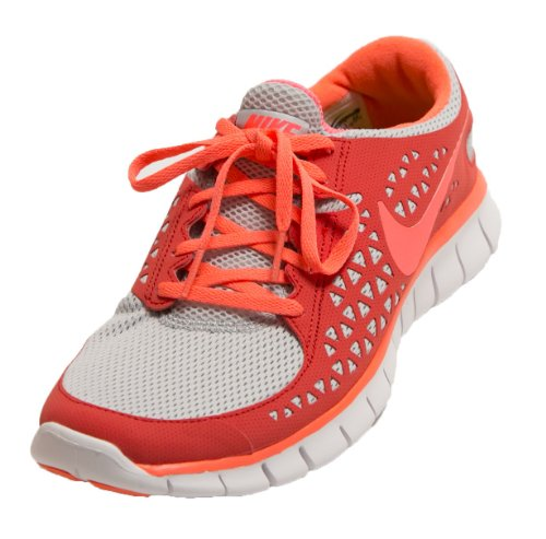 Details about Nike Free Run 395914 003 Running Training Shoes Sneaker Womens 7.5 M Orange Gray