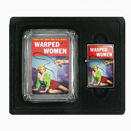 Warped Women Blonde Whip Pulp Jumbo Size Huge Big Giant 6.5 Inch Electronic Lighter D-490