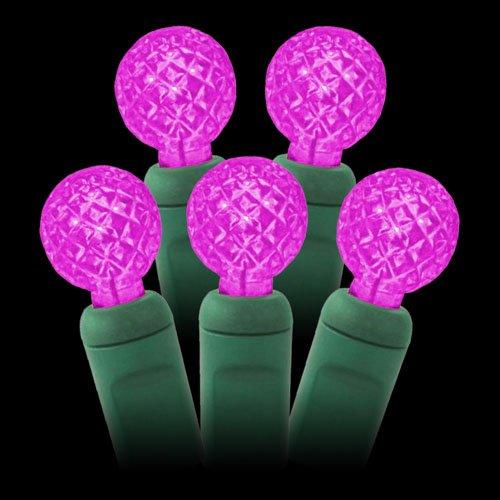 G12-Pink-LED-string-lights-25ft-50bulbs-G12-Berry-Christmas-lights-Raspberry