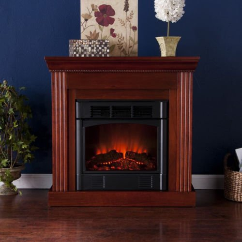 Martel Classic Mahogany Convertible Petite Electric Fireplace photo B00GKNK9LQ.jpg