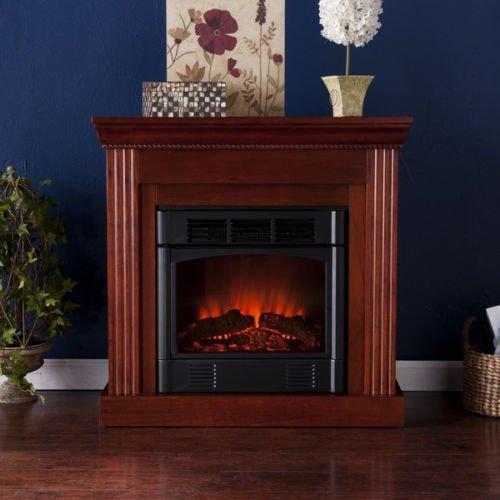 Martel Classic Mahogany Convertible Petite Electric Fireplace photo B00GKNK9LQ.jpg