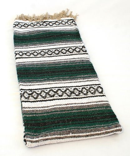 Mexican Cotton Blanket front-1081089