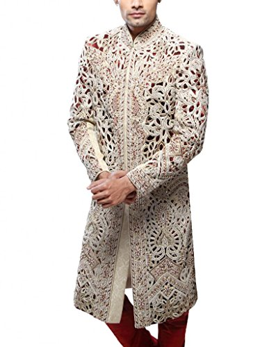 Readiprint Men Brocade Sherwani