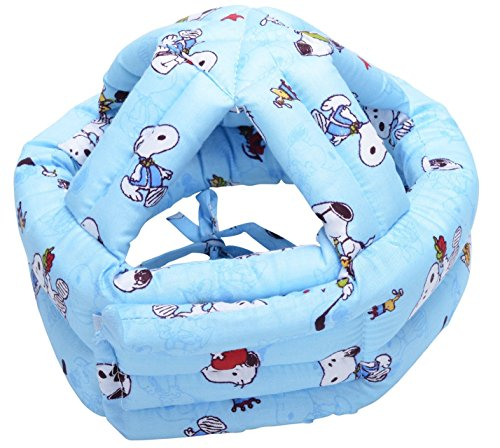 Children Baby Infant Toddler No Bumps Safety Helmet Head Cushion, Blue Dog (Baby Protection Helmet compare prices)