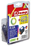 IComp Compatible HP 22 COLOUR High Capacity XL Version Cartridge for HP Deskjet 3900 3910 3920 3930 3940 D1311 D1320 D1330 D1341 D1360 D1368 D1420 D1430 D1455 D1460 D1560 D2300 D2320 D2330 D2345 D2360 D2368 D2400 D4155 D4168 F2110 F2120 F2149 F2180 F2185