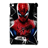3D Printed Superhero Red Spiderman Broken Glass Hard Plastic Case Cover for IPAD MINI
