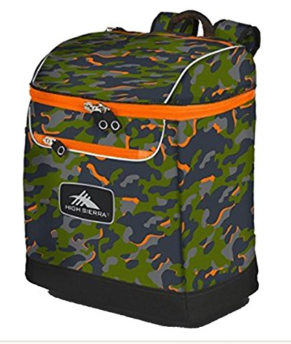 High Sierra Bucket Boot Bag,One Size,Electric Camo/Mercury