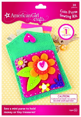 American Girl Crafts Coin Purse Sewing Kit