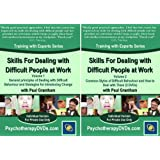 Skills For Dealing with Difficult People at Work (Psychotherapy Training with Paul Grantham) 3 DVD Setby Paul Grantham