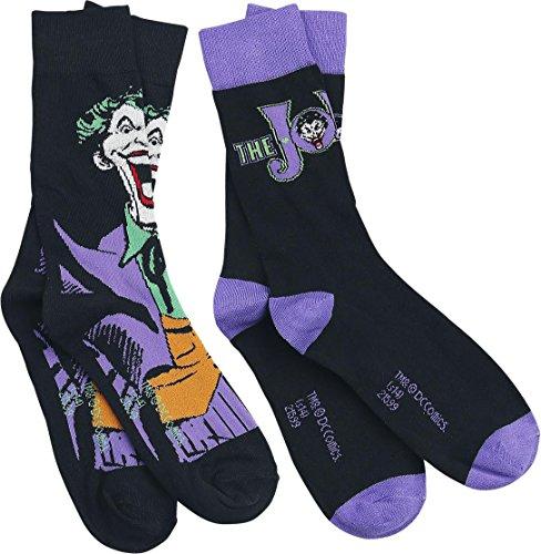 Batman Joker - Logo Calzini nero/viola