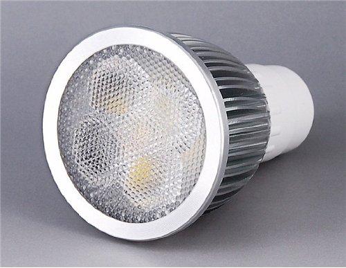 Senko Gu10 5*1W 3000-3200K Warm White Light Led Spotlight (Silver)