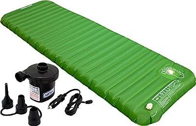 Altimair Ultra Light 3lb, Highest Quality TPU Outdoor Camping Air Mattress/Mat/Pad, Built-In Foot Pump Plus Portable Air Pump 2ABTPU01DBP