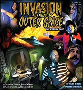 Invasion From Outer Space Martian Game