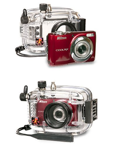 Ikelite Underwater Housing AND Nikon L24 Camera - Package