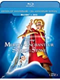 The Sword in the Stone: 50th Anniversary Edition [Blu-ray + DVD] (Bilingual)
