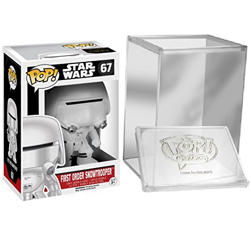 Funko Pop: Star Wars Episode 7 - First Order Snowtrooper + FUNKO PROTECTIVE CASE