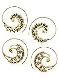 Navratan Kundan Chandbala Earrings