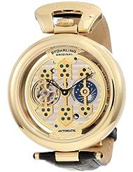 Stuhrling Original Men's 127B.333531 Special Reserve Emperor 1889 Automatic Skeleton AM/PM Indicator Black Watch