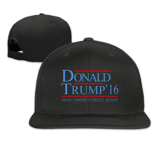 Adjustable-Donald-Trump-2016-Plain-Flat-Baseball-Caps