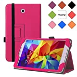WAWO Samsung Galaxy Tab 4 8.0 Inch Tablet Smart Cover Creative Folio Case - Pink