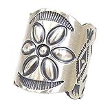 (ホーボー) hobo『Desert Flower Silver Tapered Band Ring by STANLEY PARKER』 (16号, Silver)