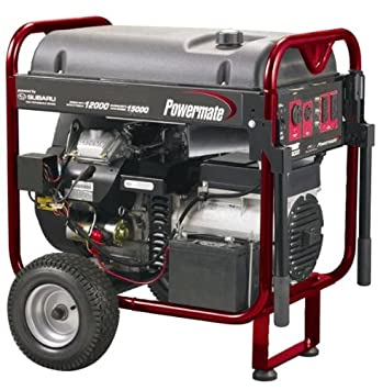 Powermate PM0601250 12500-15625 Watt Portable Generator Review