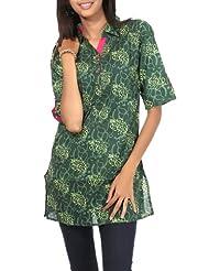 Rajrang CasuaL Wear Kurta Party Wear Tunic Top Womens CLothing Size S - B00AQGFI5A