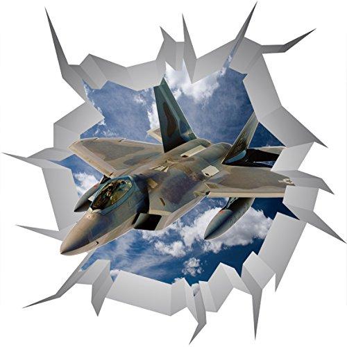 lockheed-martin-f-35-lightning-ii-poster-v002-3d-mur-crack-sticker-mural-autocollant-3d-art-mural-ta