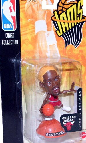 DENNIS RODMAN / CHICAGO BULLS * 98/99 Season * NBA JAMS Super Detailed * 3 INCH * Figure