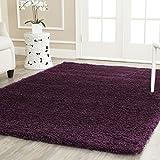Safavieh California Shag Collection 4' x 6' Area Rug, Purple