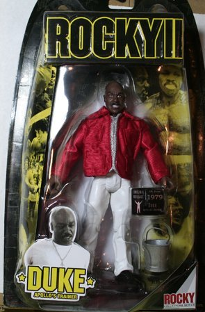 Buy Low Price Jakks Pacific Rocky II: The Authentic Collection Action Figure Duke (B0013RMYNA)