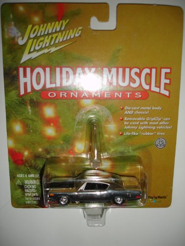 Johnny Lightning 2000 Holiday Muscle Ornament 70 Rebel Machine