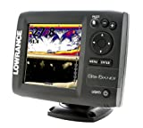 Lowrance 000-11143-001 Elite-5X HDI Fishfinder with 83/200-455/800 KHz Transducer