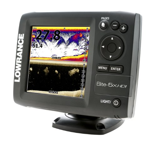Fish finder chartplotter lowrance 000 11170 001 elite 5x for Amazon fish finder