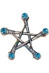 Pentagram of Swords for Protection from Negative Energy Pendant Talisman Amulet