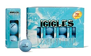 Vgolf Sky Blue Crystal Ball (Pack of 12) by BZany