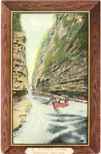 1910 Vintage Postcard Au Sable Chasm - Adirondack