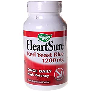 Amazon.com: Nature's Way HeartSure Red Yeast Rice 1200mg