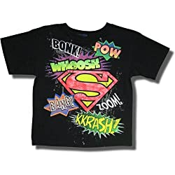 "Superman ""Pow, Bang, Zoom"" Short Sleeve T-shirt for boys"