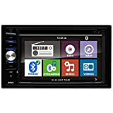 BOSS AUDIO BV9384NV Double-DIN 6.2 inch Touchscreen DVD Player Receiver GPS Navigation, Bluetooth, Wireless Remote