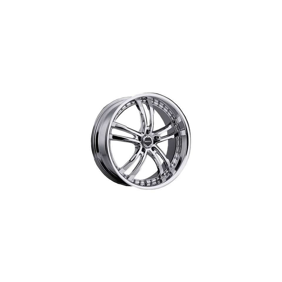 Boss 337 22 Chrome Wheel / Rim 5x120 with a 20mm Offset and a 82.80 Hub Bore. Partnumber 33760999