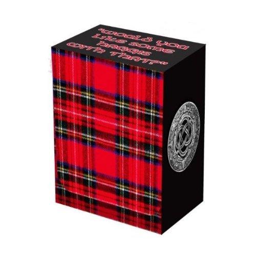 Tartan Card Deckbox - 1