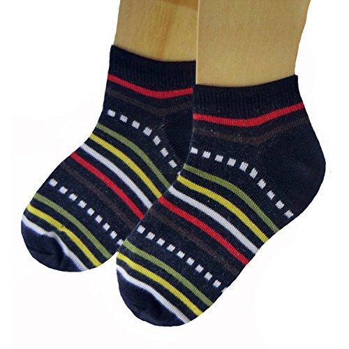 Shimasocks-chaussettes-pour-Sneaker-pour-Enfants-Pack-de-3Neuf-Marine-3538