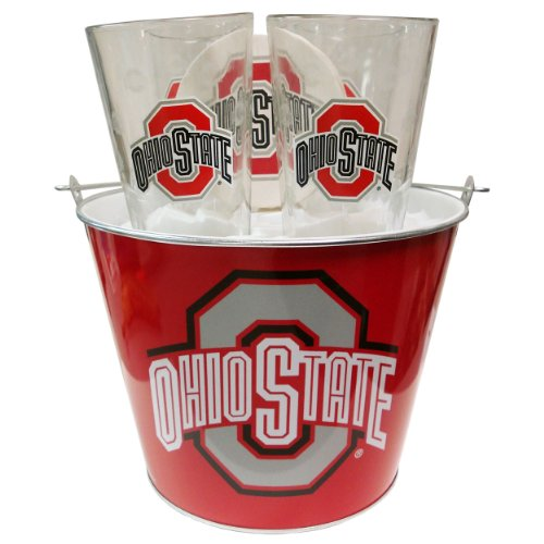 Ncaa Ohio State Buckeyes Boelter Bucket Set back-612143