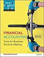 Financial Accounting, Binder Ready Version: Tools for Business Decision Making, 8th Edition Front Cover